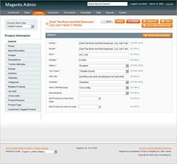 Magento Frontend Screenshot